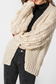 ALB Anchorage Bobble Cardigan - Front cropped