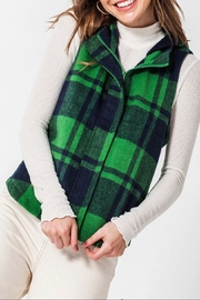 Favlux Buffalo Plaid Vest - Product Mini Image
