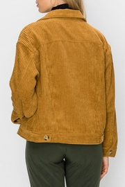 Favlux Camel Corduroy Jacket - Side cropped
