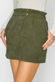 Favlux Corduroy Mini Skirt - Front cropped