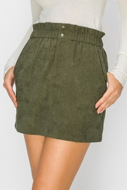 Favlux Corduroy Mini Skirt - Product Mini Image