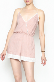 Favlux Crochet Trim Romper - Product Mini Image