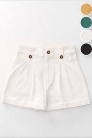 Favlux Double Pleated Shorts - Product Mini Image