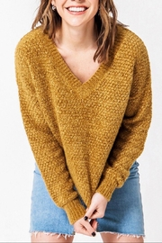 Favlux Drop Shoulder Sweater - Front cropped