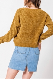 Favlux Drop Shoulder Sweater - Side cropped