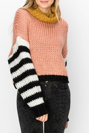 Favlux Drop-Shoulder Turtleneck Sweater - Product Mini Image