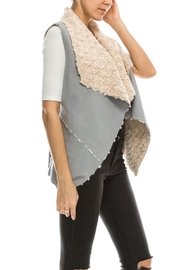 Favlux Faux Fur Vest - Front full body