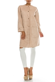 Favlux Faux Suede Jacket - Product Mini Image