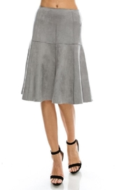 Favlux Faux Suede Skirt - Product Mini Image