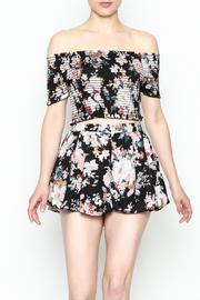 Favlux Floral Crop Top - Product Mini Image