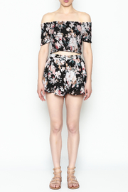 Favlux Floral Print Shorts - Front full body