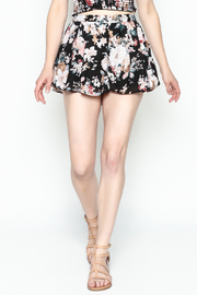 Favlux Floral Print Shorts - Side cropped