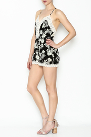 Favlux Floral Romper - Side cropped