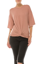 Favlux Front Tie Tee - Front cropped
