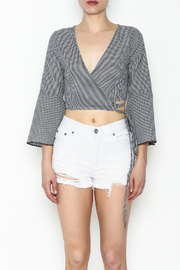Favlux Gingham Top - Front full body