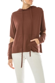 Favlux Hoodie Top - Front cropped