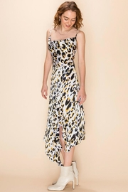 Favlux Leopard Midi Dress - Side cropped