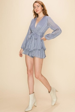 Favlux Long-Sleeve Tiered Romper - Product List Image