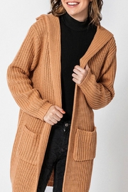 Favlux Madison Hooded Cardigan - Front full body