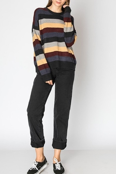 Favlux Multicolored Striped Sweater - Alternate List Image