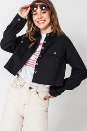 Favlux Oversized Denim Jacket - Product Mini Image