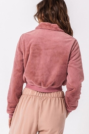 Favlux Short Teddy Bomber - Side cropped