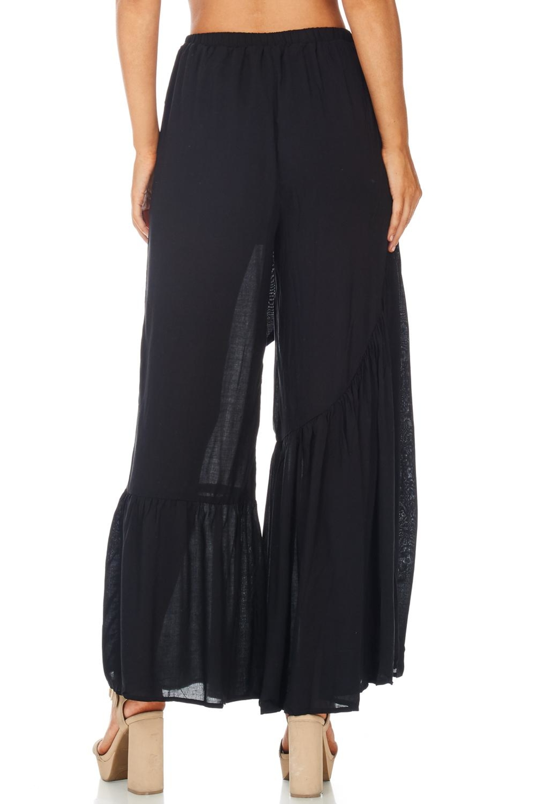 Favlux Bell Bottom Pants - Side Cropped Image