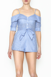 Favlux Striped Romper - Front cropped