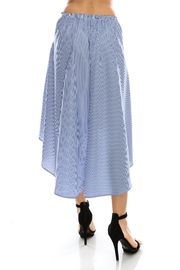 Favlux Stripe Tie Skirt - Front full body