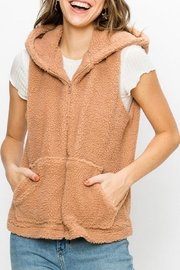 Favlux Teddy Zip-Up Vest - Product Mini Image