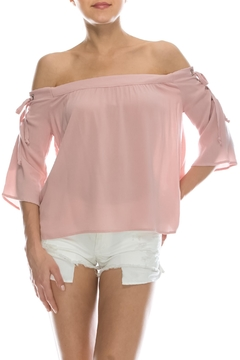 Shoptiques Product: Tie Shoulder Top