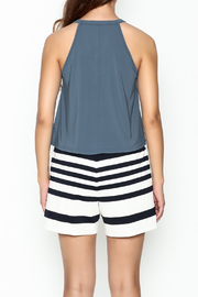 Favlux Tie Up Top - Back cropped