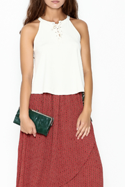 Favlux Tie Up Top - Front cropped