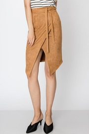Favlux Vegan Suede Skirt - Product Mini Image