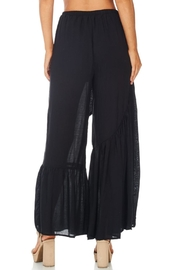 Favlux Wide Ruffle Leg Pants - Side cropped