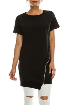 Shoptiques Product: Zipper Shirt Dress