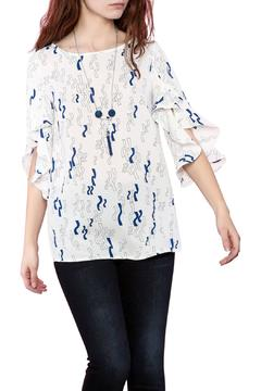 Favori Ruffle Sleeves Blouse - Product List Image