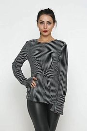 Favori Striped Top - Product Mini Image