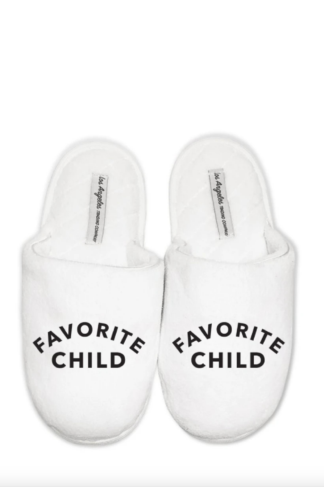 Los Angeles Trading Co.  Favorite Child Slippers - Front Cropped Image