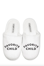 Los Angeles Trading Co.  Favorite Child Slippers - Product Mini Image