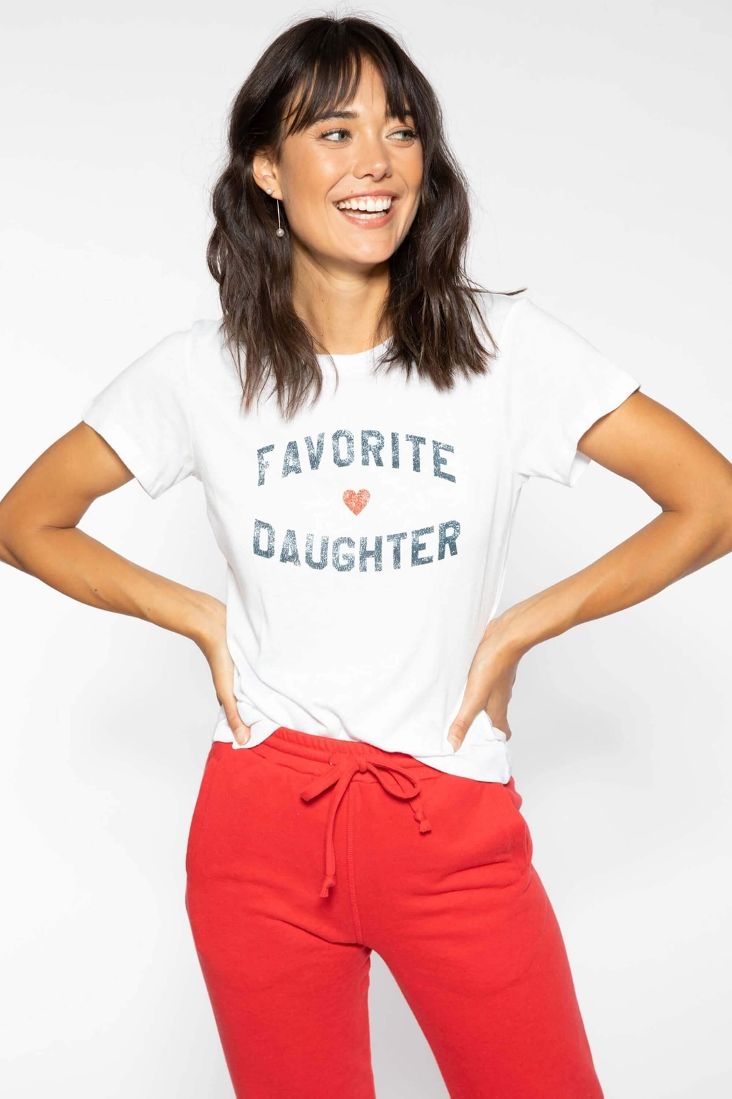 Sub Urban Riot Favorite Daughter Tee - Side Cropped Image