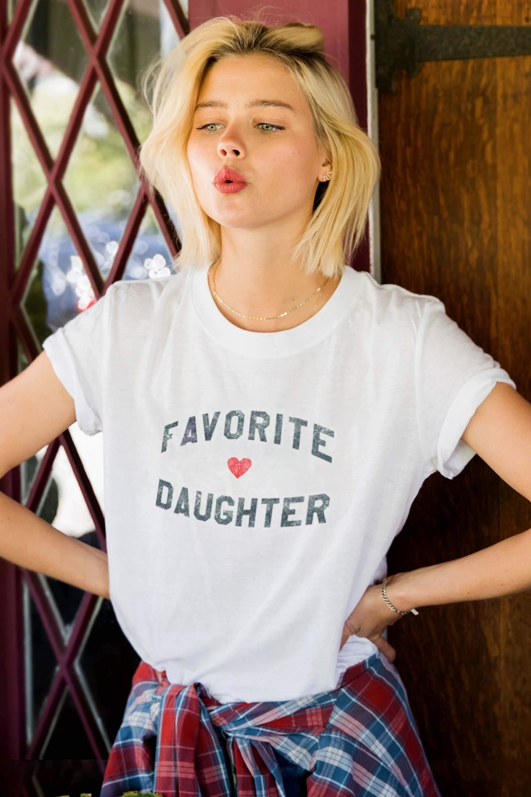 Sub Urban Riot Favorite Daughter Tee - Front Cropped Image