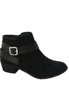 Bamboo Favorite Everyday Black Bootie - Alternate List Image