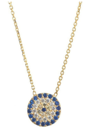 Allie & Chica Favorite Gold Evil Eye Necklace - Product Mini Image