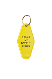 He Said, She Said Favorite Human Key Chain - Product Mini Image