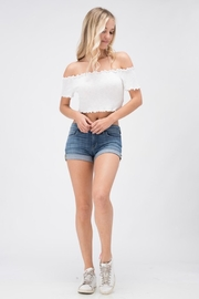 Sneak Peek Favorite Jean Shorts - Front cropped