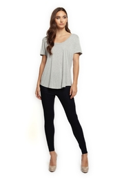 Dex Favorite Scoop-Neck Tee - Product Mini Image