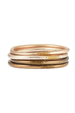 The Birds Nest FAWN ALL WEATHER SERENITY BANGLES - MEDIUM - Product List Image
