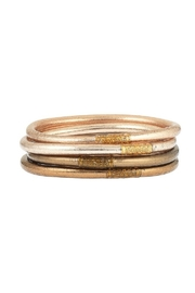 The Birds Nest FAWN ALL WEATHER SERENITY BANGLES - SMALL - Product Mini Image