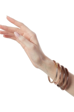 The Birds Nest FAWN ALL WEATHER SERENITY BANGLES - SMALL - Alternate List Image